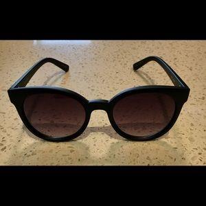Quay oversized cat eye sunglasses